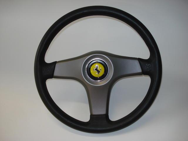 A Ferrari 456 steering wheel, 1994,