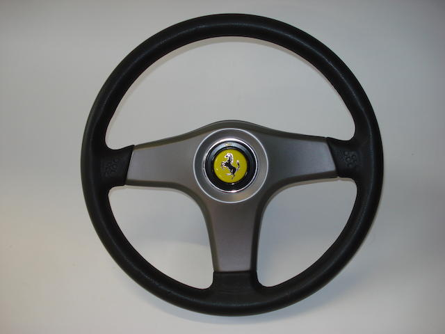 A Ferrari 456 steering wheel, 1994,