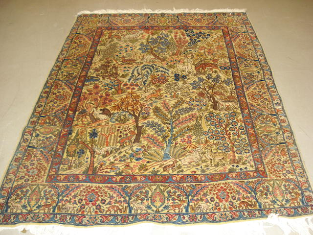 A Tabriz rug, North West Persia, 188cm x 138cm