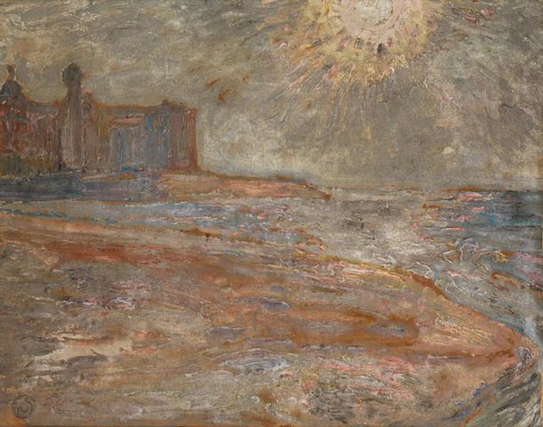Leon de Smet (Belgian, 1881-1966) Vue de mer, Ostend