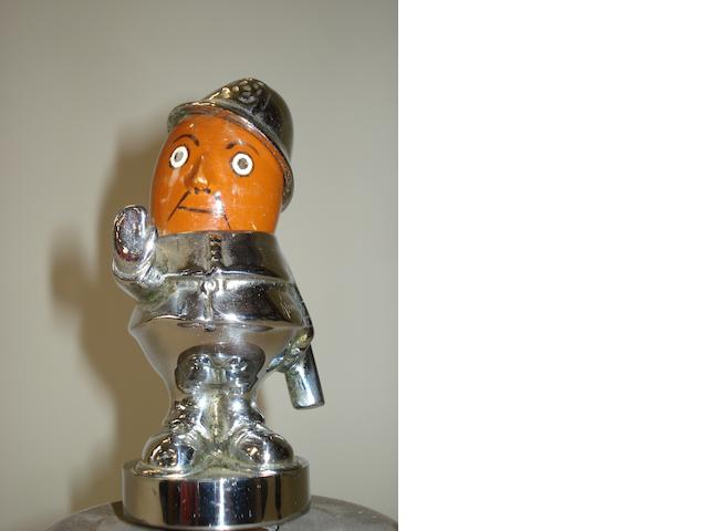 A 'Robert' mascot by Hassall,