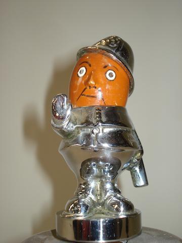 A 'Robert' mascot by Hassall,