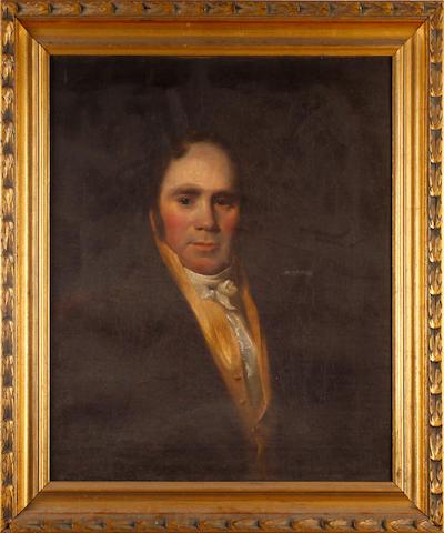 English School, 19th Century Portrait of a gentleman