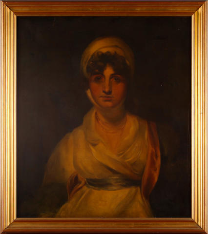English School, 19th Century, after Reynolds Portrait of a young lady