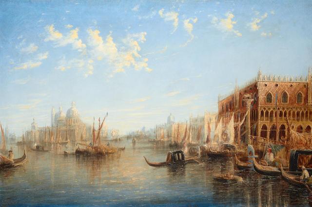 Francis Moltino (British, 1818-1874) A Venetian capriccio