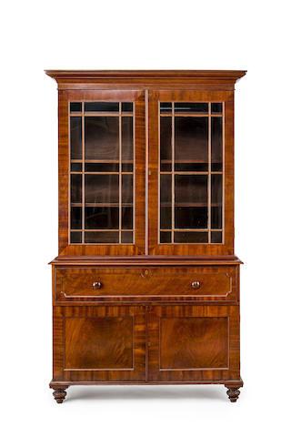 An Australian full cedar bookcase Circa 1840