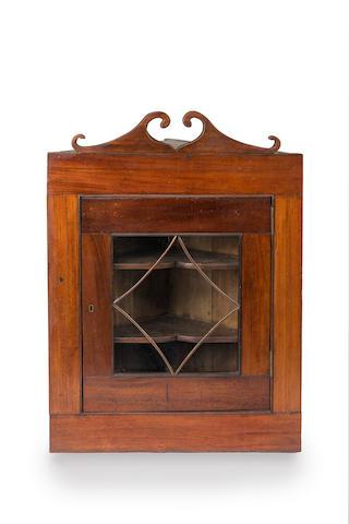 A Australian full cedar corner cupboard Circa 1830