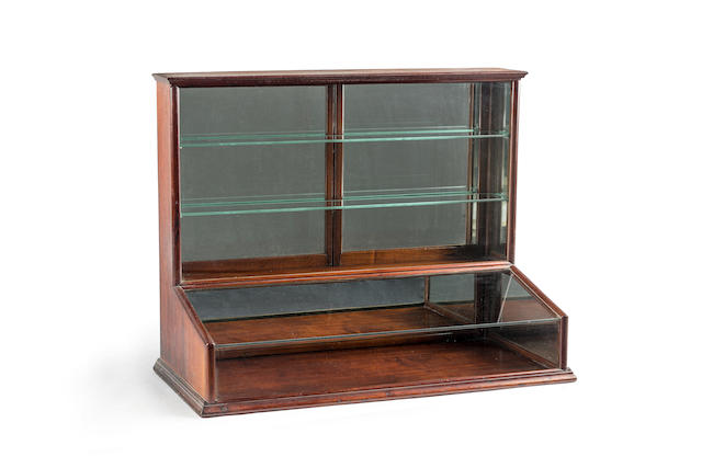 An Australian cedar table top display cabinet Circa 1880