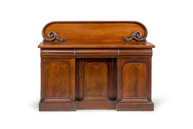 An Australian full cedar sideboard by Andrew Lenehan, Circa 1865