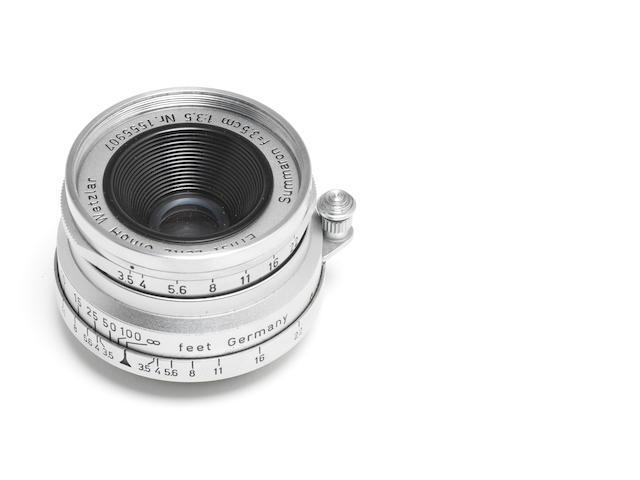 Summaron 3.5cm f3.5 lens