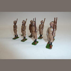 Britains set 1621, 12th Frontier Force 8