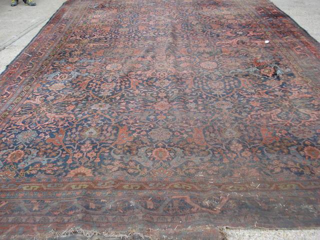 A Bidjar carpet, Persian/Kurdistan, 592cm x 370cm