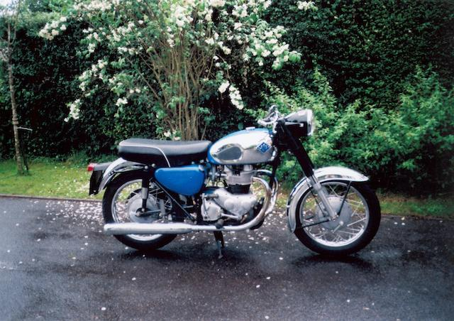 1967 AJS 650cc 31CSR Frame no. A88058 Engine no. 10626