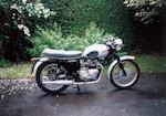 1960 Triumph 500cc Tiger 100 Frame no. T1004-H—14897 Engine no. 3TA-H45678