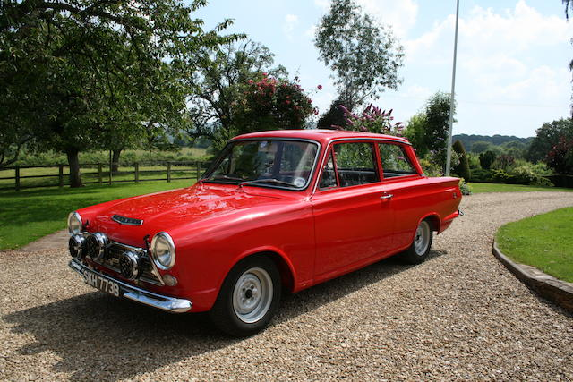 1964 Ford Cortina GT Mk1 2-Door Rally Saloon  Chassis no. Z77D052460R Engine no. 122E20767