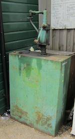 Two Castrol forecourt oil dispensers,