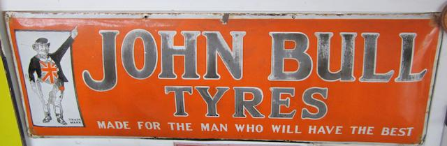 Three John Bull advertising items,