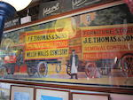 A J.E. Thomas & Sons Removal Contractors advertising poster,