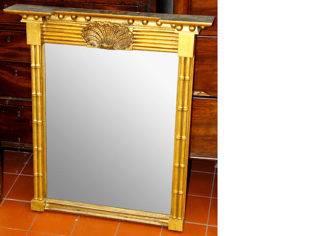A Regency gilt pier mirror 2