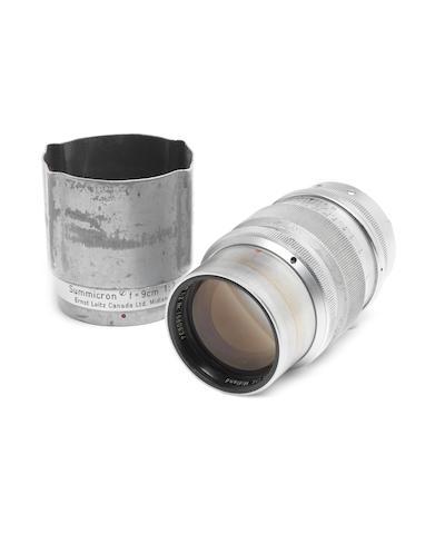 Summicron 9cm f2 lens