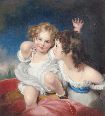 After Sir Thomas Lawrence The Calmady Children