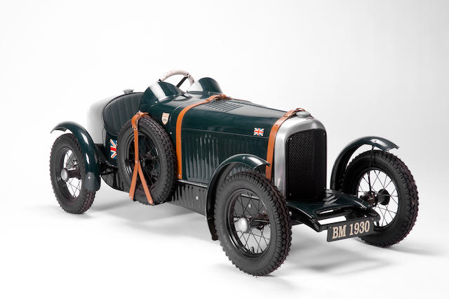 A 'Vintage Bentley' pedal car, hand-built by Pedal Power of London,