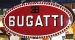 An enamel Bugatti badge sign,