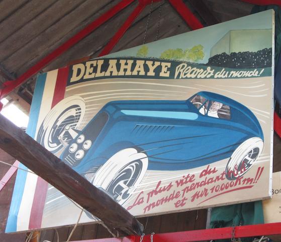 T A Harrison, 'Delahaye Records du Monde!',