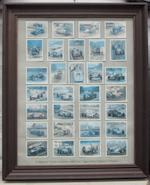 Assorted garage and museum display material,