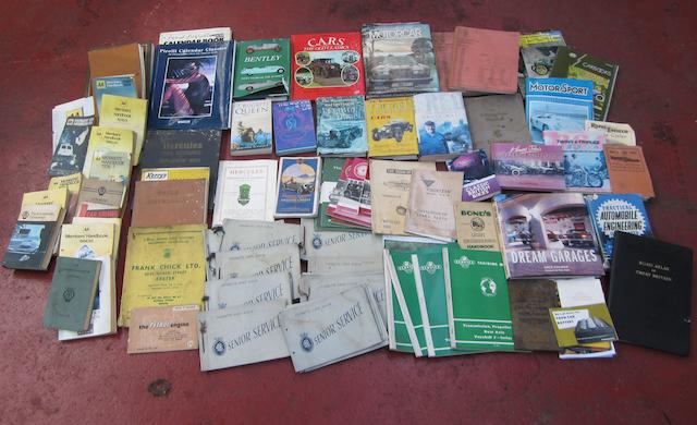 Assorted Motoring books and publications,