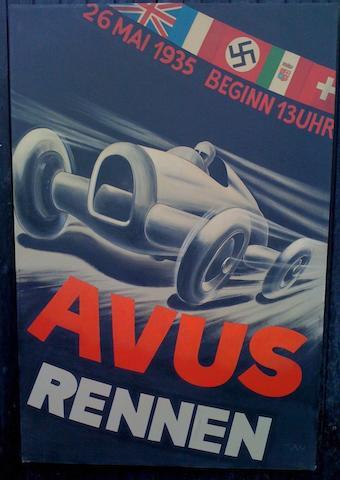 Alan Harrison, '1935 Avus-Rennen',