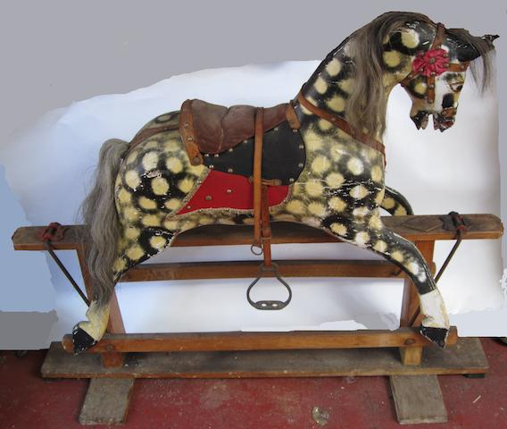A traditional Rocking Horse,