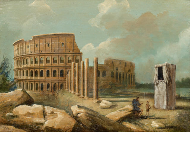 20th Century School The Colosseum and the companion, Villa;