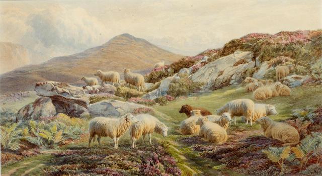 Frederick Williamson (British, 1835-1900) At Bethesda, North Wales