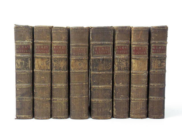 BINDINGS HUME (DAVID) The History of England, 8 vol.