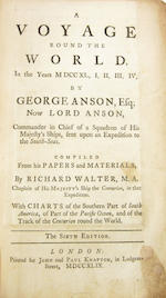 ANSON (GEORGE) A Voyage Round the World in the Years MDCCXL, I, II, III, IV