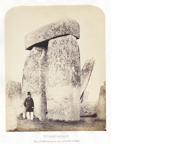 JAMES (HENRY) Plans and Photographs of Stonehenge, and of Turusachan in the Island of Lewis; with notes relating to the Druids and Sketches of Cromlechs in Ireland, no publisher, 1867