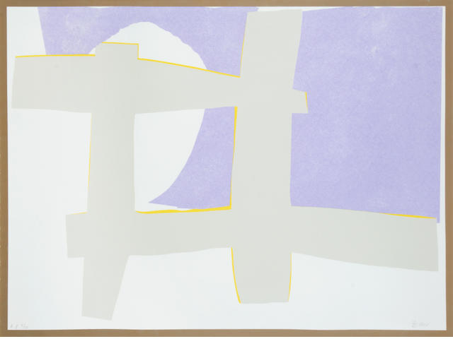 Sandra Blow R.A. (British, 1925-2006) Untitled Screenprint in colours, signed and inscribed 'A.P. 5/10' in pencil, an artists proof aside the numbered edition of 100, 550 x 750mm (21 5/8 x 29 1/2in)(I)