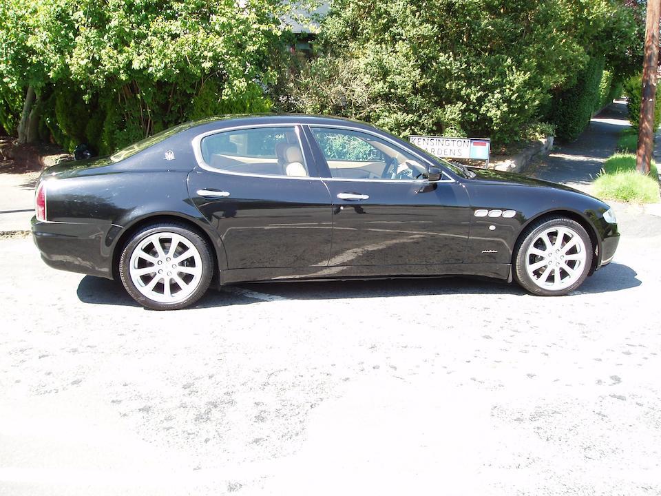 2004 Maserati Quattroporte AB4 SA Sports Saloon  Chassis no. ZAMCD39L000013983 Engine no. 85806