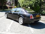 2004 Maserati Quattroporte AB4 SA Sports Saloon  Chassis no. ZAMCD39L000013983 Engine no. 85806