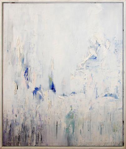 Martyn Brewster (British, born 1952) White Wall