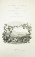 ITALY BATTY (ELIZABETH FRANCES) Italian Scenery from Drawings made in 1817