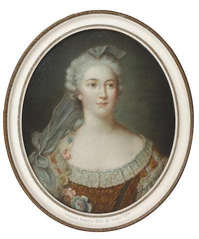 Continental School, 19th Century Portrait of Mme Sophie, fille de Louis XIV