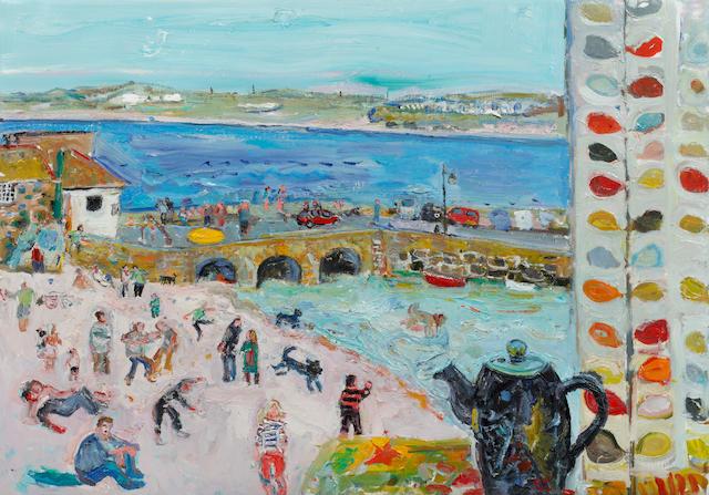 Linda Weir (British, born 1951) St Ives Golden Spring