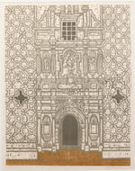 Valerie Thornton (British, 1931-1991) A Collection Including 'St Benoit sur Loire', 'St Aignan, Orleans', 'St.Eufemia, Spoleto', 'Mexican Church', and 'Esco, Sigüés, Spain', five etchings with aquatint in colours, 1989, four signed in pencil, 'Esco' with a printed signature, each on wove, 515 x 400mm (20 1/4 x 15 3/4in)(I)(and smaller) 5