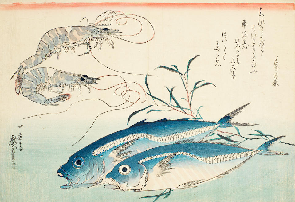 Ando Hiroshige (1797-1858) and after Hokusai Mid and late 19th century