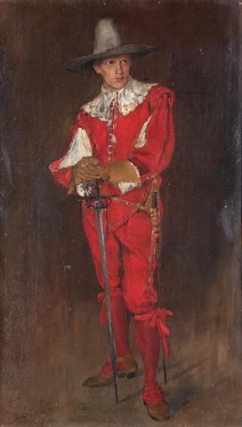 Philip Alexius de Laszlo (1869-1937) Cavalier in red