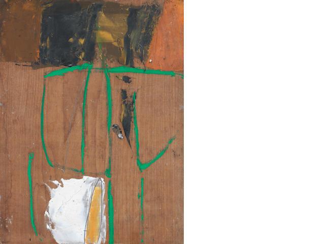Roger Hilton (British, 1911-1975) Untitled