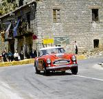 ARX 91B' - The Ex-Works BMC Competitions Department, Paddy Hopkirk/Henry Liddon 1964 Austrian Alpine Rally-winning, Timo Makinen/Paul Hawkins 1965 Targa Florio – Ted Worswick/Richard Bond 1967 Targa Florio – Ted Worswick/Peter Clarke 1967 BOAC '500',1963-64 Austin-Healey 3000 Mark III Lightweight Works Rally Two-Seat Hardtop Coupe  Chassis no. HBJ8-26754 Engine no. 29K/RU/H1502
