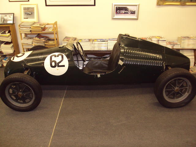 Property of a deceased's estate c.1950 Cooper Formula 3 Single-Seater  Chassis no. 54750 Engine no. 75819